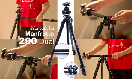 Review Manfrotto 290 Dual