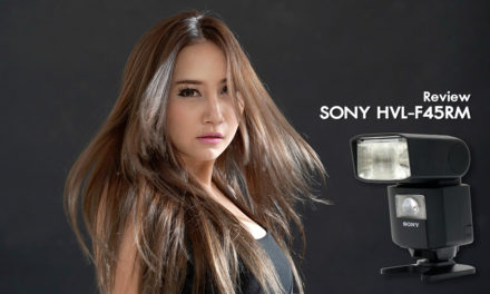 Review SONY HVL-F45RM