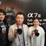 """โซนี่พลิกโฉมวงการถ่ายภาพส่งกล้อง """"α7 III"""""""