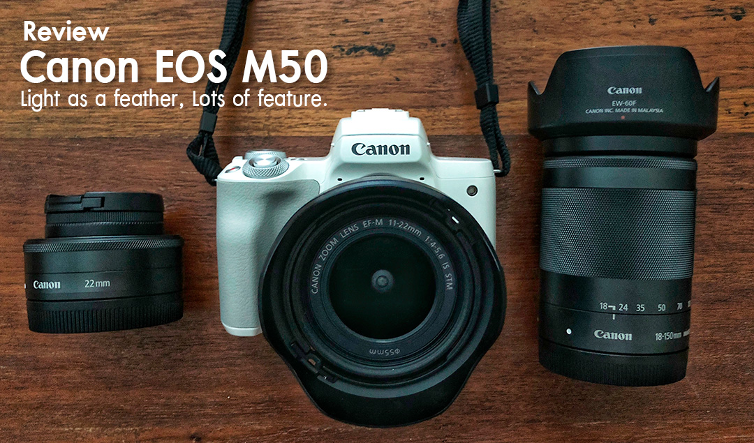 Review Canon EOS M50
