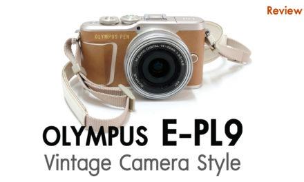 Review Olympus PEN E-PL9