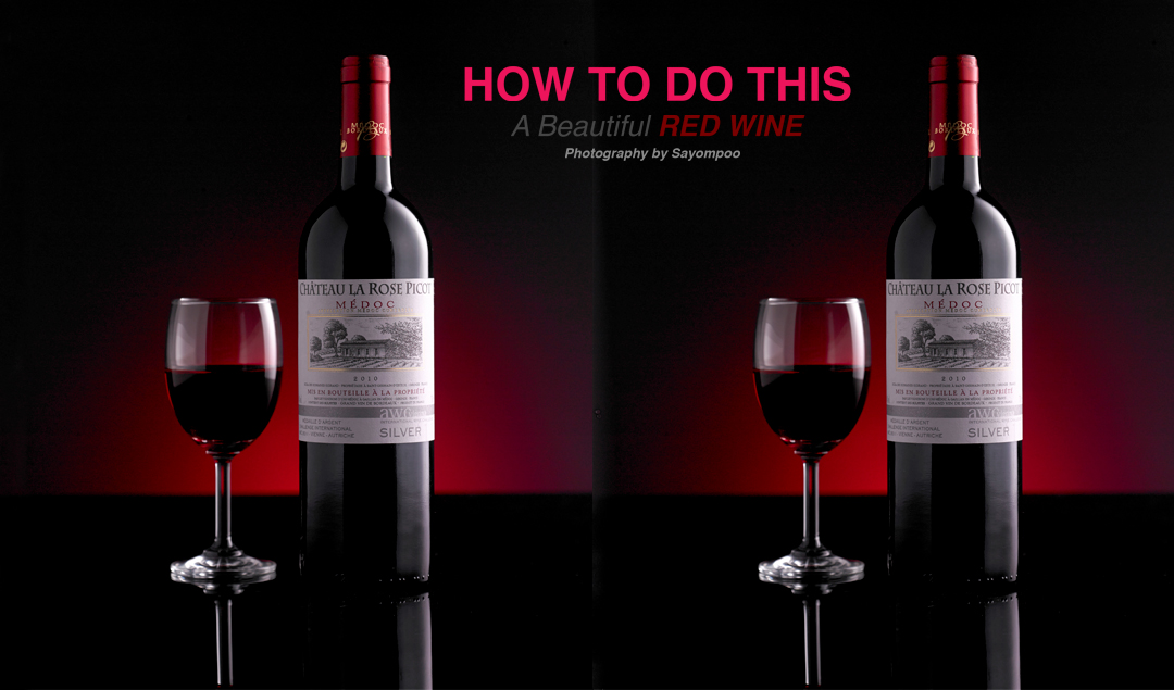HOW TO DO THIS A Beautiful RED WINE