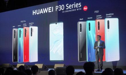 หัวเว่ยเปิดตัว HUAWEI P30 Series – Super Camera Smartphone