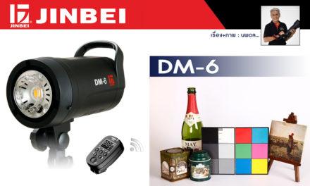 Review JINBEI DM-6