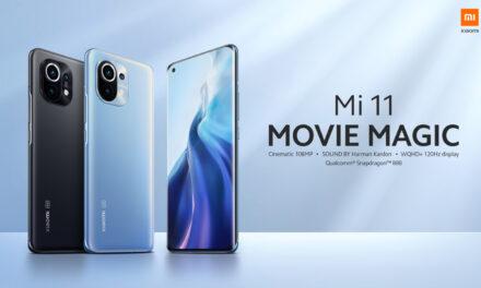 Xiaomi Mi 11 MOVIE MAGIC