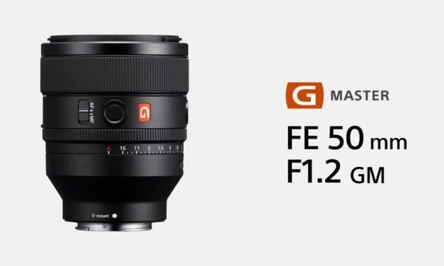 โซนี่เปิดตัวเลนส์ฟูลเฟรม G Master FE 50mm F1.2 GM เลนส์ Normal ระดับเรือธง