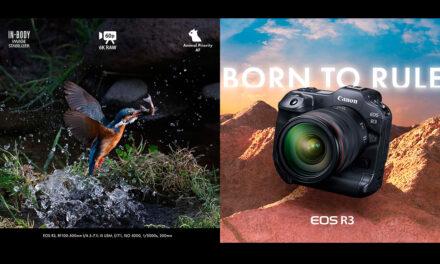 แคนนอน เปิดตัว Canon EOS R3